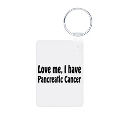 Pancreatic Cancer Keychains