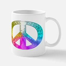 Peace Rainbow Splash Mug