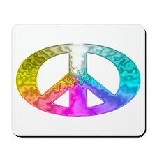Peace Rainbow Splash Mousepad