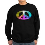 Peace Rainbow Splash Sweatshirt (dark)