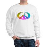 Peace Rainbow Splash Sweatshirt