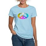 Peace Rainbow Splash Women's Light T-Shirt