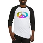 Peace Rainbow Splash Baseball Jersey