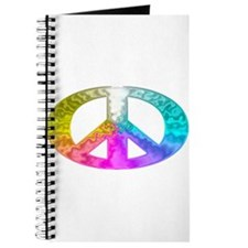 Peace Rainbow Splash Journal