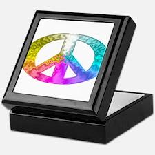 Peace Rainbow Splash Keepsake Box