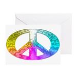 Peace Rainbow Splash Greeting Cards (Pk of 10)