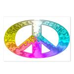 Peace Rainbow Splash Postcards (Package of 8)
