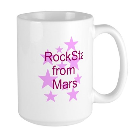 Rock Star from Mars Large Mug