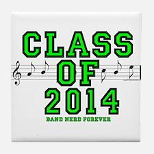 BandNerd.com: Class of 2014 Tile Coaster