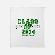 BandNerd.com: Class of 2014 Throw Blanket