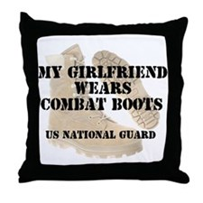 My Girlfriend Wears NG DCB Throw Pillow