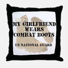 My Girlfriend Wears NG DCB Throw Pillow