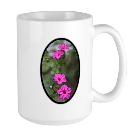 Watercolor Garden Large Mug