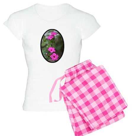Watercolor Garden Women's Light Pajamas
