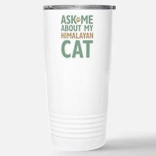 Himalayan Cat Travel Mug