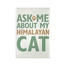 Himalayan Cat Rectangle Magnet