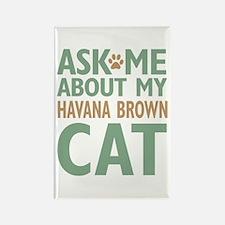 Havana Brown Rectangle Magnet