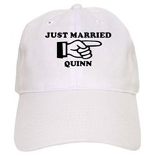 Just Married Quinn Baseball Baseball Cap