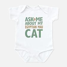 Egyptian Mau Cat Infant Bodysuit