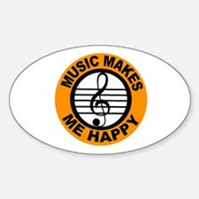 START THE MUSIC Decal