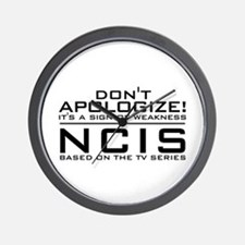 Don't Apologize! NCIS Wall Clock