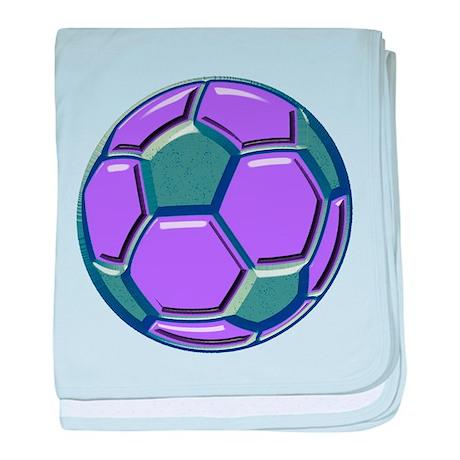 Soccer Impressions baby blanket