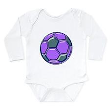 Soccer Impressions Long Sleeve Infant Bodysuit