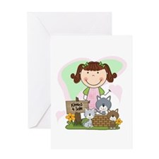 Kittens 4 Sale Greeting Card