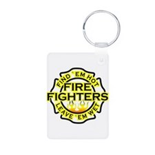 Firefighters, Hot! Keychains