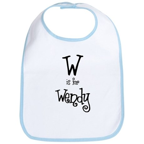W Is For Wendy Bib