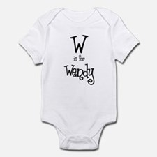 W Is For Wendy Infant Creeper