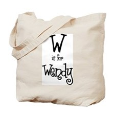 W Is For Wendy Tote Bag