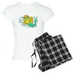 Kitty Mermaid Women's Light Pajamas