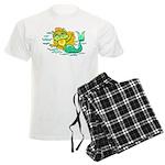 Kitty Mermaid Men's Light Pajamas