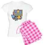 Jigsaw Puzzle Women's Light Pajamas