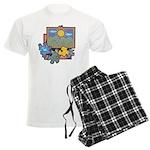 Jigsaw Puzzle Men's Light Pajamas