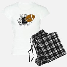 Football Burst Pajamas