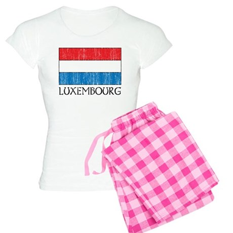 Luxembourg Flag Women's Light Pajamas