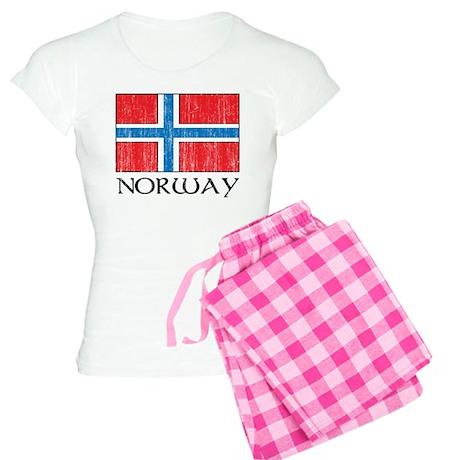 Norway Flag Women's Light Pajamas
