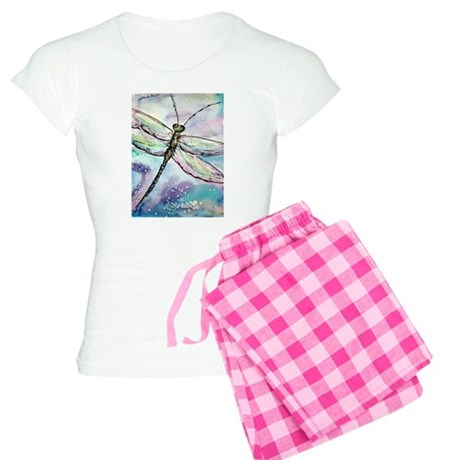 Dragonfly, colorful, fun, Women's Light Pajamas