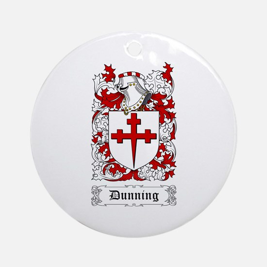 Dunning Ornament (Round)