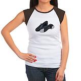 Tap shoes Women's Cap Sleeve T-Shirt
