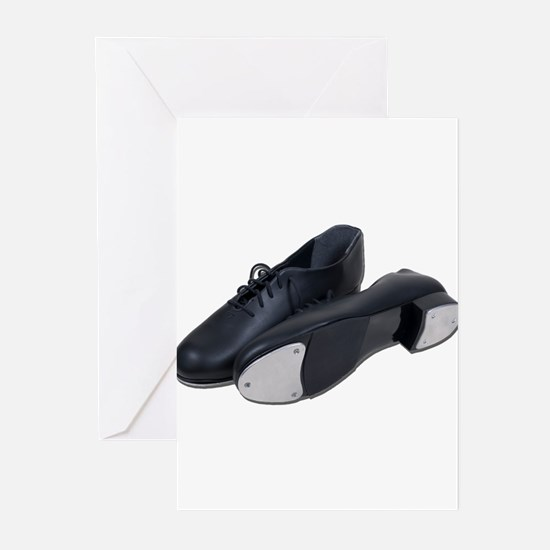 Tap Shoes Greeting Cards (Pk of 20)