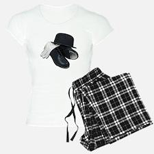 Tap Shoes Bowler Hat Gloves Pajamas