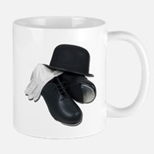 Tap Shoes Bowler Hat Gloves Mug