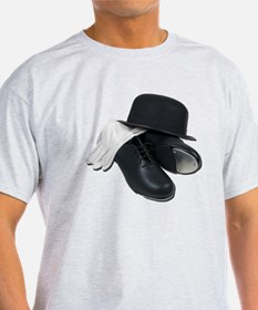 Tap Shoes Bowler Hat Gloves T-Shirt