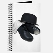 Tap Shoes Bowler Hat Gloves Journal