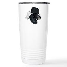 Tap Shoes Bowler Hat Gloves Travel Mug