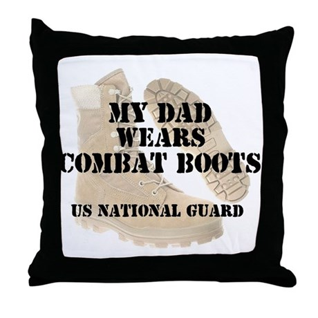 My Dad Wears NG DCB Throw Pillow