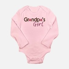 Grandpa's Girl Long Sleeve Infant Bodysuit